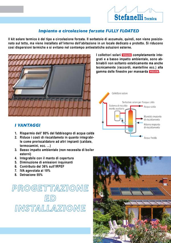 Stefanelli Tecnica - Pannello solare Termico