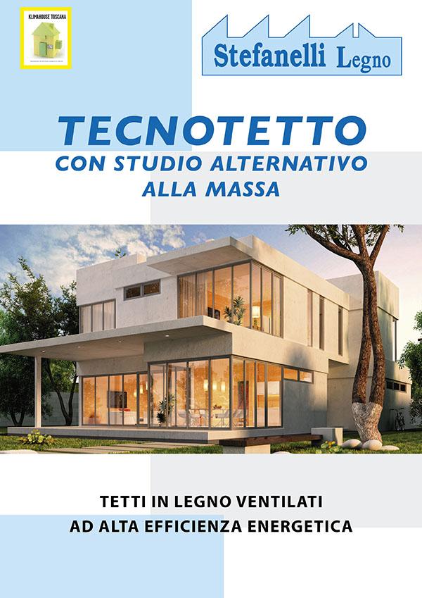 Stefanelli Legno - Tetto in legno Ventilati ad alta efficenza energetica
